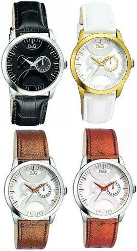 DOLCE&GABBANA 腕時計ドルチェ&ガッバーナ ウォッチレザーベルトホワイト ブラック DW0698WHDW0699BKブロンズ メタルオレンジ DW0700BZDW0701D&G WATCH TWIN TIPドルガバ アナログディー&ジー ツインチップ男性用 メンズ