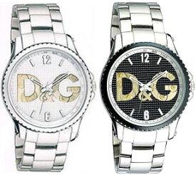 DOLCE&GABBANA 腕時計ドルチェ&ガッバーナ ウォッチホワイト ブラック DW07100WHDW0708SLBKステンレスベルトロゴ文字盤D&G WATCH SESTRIEREドルガバ アナログディー&ジー セストリール男性用 女性用