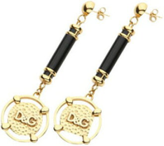 D & G Jewelry Dolce & Gabbana jewelry earrings PIERCE double swing earrings Blackburn x's DOLCE &GABBANA d g Jewels DJ0966 PENDANT NECKLACE ladies as ...