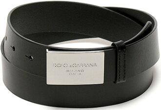 DOLCE & GABBANA D & G BELT Dolce & Gabbana d & g belt buckle square logo matte dark brown / Matt BC3149-A6I47-80048