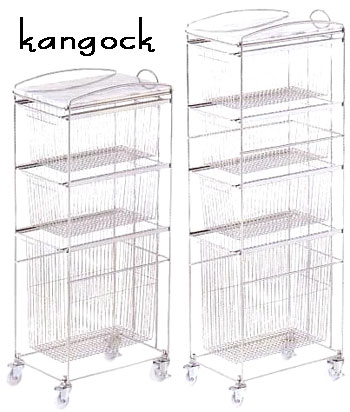 Casters Kitchen Trolley Slide Wire Baskets Type In And Out Effortlessly  3 Stage 4 Stage Rack Rack Silver KITCHEN SLIM TROLLEY With Marble Top Plate  Kitchen ...