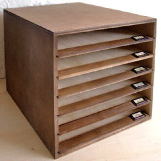Wood March letter case wristlet shelf Board puller drawer Letter Case tray  mltiform wooden name tag Pocket A4 size slide tray 6-stage documents case