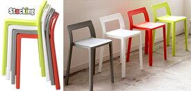 軽量スタッキングコンパクトチェアレッド ホワイト グリーン オレンジダイニングチェア スツールとして見ていても飽きないフォルム軽くて省スペースに収納できる椅子ちょっとしたパーティーや会議室のオフィスチェアとして