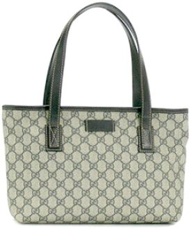 Gucci Tote Pvc Coated Canvas Bag Beige X Navy Couture Plate Handbags Shoulder 211138 Kgdhn Fp47n4075 Women S