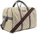 f50230eb6713 GUCCI Gucci 2-WAY Boston bag coated GG canvas beige x Brown GG Crystal PVC  / leather handbag shoulder bag travel bag travel bag removable shoulder  strap bag ...