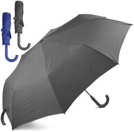 LEXON レクソン ワンタッチオープンジェイフック型取っ手の折りたたみ傘フォールディングアンブレラダークグレー ブルー レイングッズ持ち易く、テーブルに引っかけ易い持ち手ハンドル雨の日の便利デザインアイテムJ-hook umbrella mini