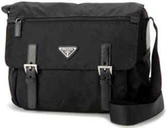 6f7f501542bb33 PRADA Prada Messenger bag TESSUTO triangular logo plate front fasnapoket  also shoulder bag BT6671 VELA SPORT