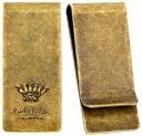 Paul Smith ポールスミスアンティークゴールド マネークリップロゴ刻印 王冠 エンボス英国クラウンアクセサリー 財布 …