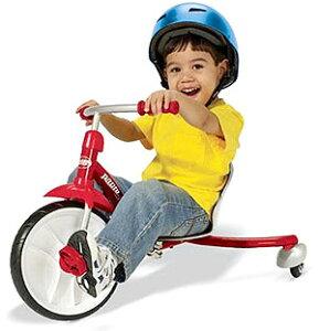 RADIO FLYER ラジオフライヤーTrikes & Bikes 三輪車&自転車Slider Rider #460Spin-Out Actionスライダーライダーローライディング三輪車シートスライド調整可能