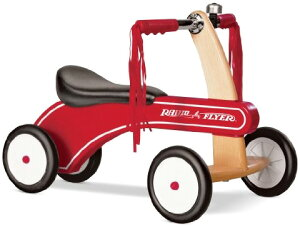 RADIO FLYER ラジオフライヤークラシックタイニートライクSpeciality Collection スペシャルモデルClassic Tiny Trike #320足蹴り4輪車 キックカー ウッドカーレトロスタイルの三輪車です。