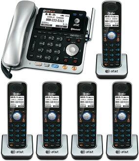 1 대에 2 회선을 사용할 수 AT&T 디지털 무선 전화기 도청 될 수 없는 명확한 음성 통화가 가능한 DECT6.0 방식의 디지털 부재중 전화 기능이 있는 전화기 코드 부모가 제트 그것 (블랙/실버) 무선 자기 (블랙) 자식 기 증설 가능