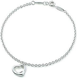 bc68bca88907 Tiffany  Co. Tiffany mini hearts bracelet silver chain sterling silver  BRACELET accessories MINI OPEN HEART Elsa Peretti s most representative  work Original ...