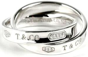 Tiffany&Co. ティファニー 指輪1837 インターロッキング サークルリングスターリング シルバーINTERLOCKING CIRCLE RING 4-9約 7号9号11号14号17号19号時を超えて愛されるティファニーの人気コレクション