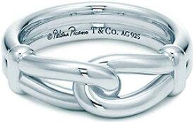 Tiffany&Co. ティファニー 指輪ノットリング パロマピカソスターリングシルバー7.0(約14号)8.0(約17号)9.0(約19号)10.0(約21号)11.0(約24号)12.0(約26号)Original designs copyrighted by Paloma Picasso