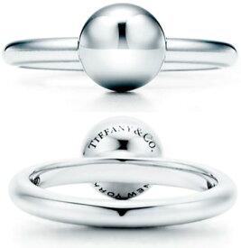 Tiffany&Co. ティファニー 指輪ボールリング スターリングシルバーエレガントデザインシルバー925 JEWELRY HARDWEAR BALL RING 4.0(約7号) 4.5(約8号) 6.5(約13号) 7.0(約15号) 7.5(約16号) 8.0(約17号) 8.5(約18号)