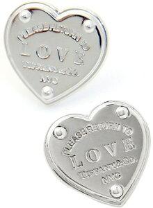 Tiffany&Co. ティファニーRTT ラヴピアス ハートピアスリターントゥティファニーラブ スターリング シルバー925アクセサリー パロマピカソRETURN TO TIFFANYNYC LOVE HEART pierced earring
