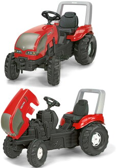 Lolly kids series of the toy Lolly toys Val tiger X truck X truck tractor popularity for the toy child made in four-wheeled pedal car Germany to row it with poor ability, and to be able to take out! I help the exercise of the RIDE ON Farm XTrack tricycle