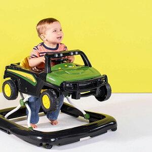 クラシックトラック手押し車歩行器 歩くを楽しむグリーン×イエロー カーウォーカー取り外し可能トラックClassic Car Walker乗用玩具 おもちゃお孫さんの出産祝いに人気3段階高さ焼成可能