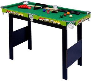 パーティー&イベントに大活躍 テーブルゲーム ビリーヤードテーブルセット グリーン狭いスペースでも楽しめる スタンディングビリヤード台キューや球も揃て直ぐ遊べる軽くて片付けも