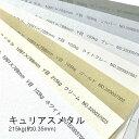 【特殊紙】キュリアスメタル 215kg(0.35mm)選べる7色【ファンシーペーパー 印刷用紙 キラキラ パール加工】
