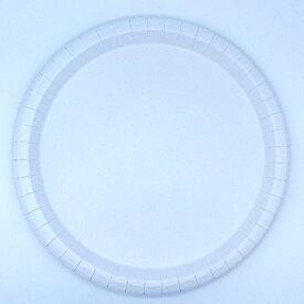 【E4-3】紙皿 業務用 ホワイト 11号 27cm(50枚) 耐水 大きい 使い捨て 日本製 業務用 ピザ Mサイズ用の紙皿 特大 バーベキューでも大活躍 新型コロナウィルス家庭内感染予防対策としても