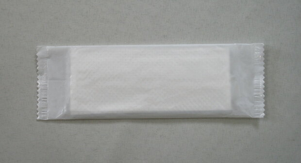 【あす楽対応】平型 紙おしぼり3プライ☆1200本入り☆
