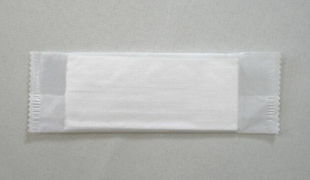 【あす楽対応】平型 千切れにくい素材(国産)のスパンレースおしぼり☆1200本入り☆