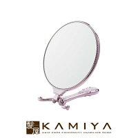 トゥインクルハンド&スタンドミラー|ピンクゴールドシルバー手鏡おしゃれ手鏡コンパクトミラー鏡卓上ハンドミラースタンドミラー卓上アンティークスタンドミラー角度調節サロン美容室エステゴージャス