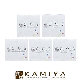 ウェーブコーポレーション スパトリートメント CO2ジェリーG 5回分|炭酸ガスパック 効果 血流 血行 美容 エステ 二酸化炭素 新陳代謝 ジェル 高濃度 経皮吸収 おすすめ 人気 ランキング クチコミ 女性 男性 レディース