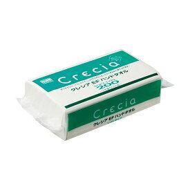 日本製紙クレシア クレシアEF ハンドタオル ソフトタイプ200 30パック 送料無料