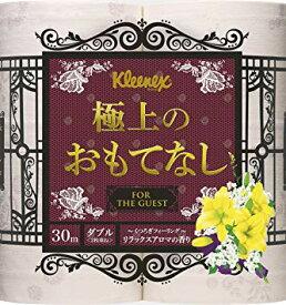 日本製紙クレシア クリネックス 極上のおもてなし4ロールダブル×10パック 送料無料