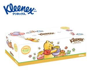 日本製紙クレシア クリネックス ティシュー ローション ディズニー プー 360枚(180組)10箱入り まとめ買い 送料無料