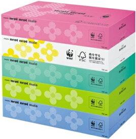 王子ネピア ネピア ネピネピ メイトティッシュ 300枚(150組)5箱×12パック まとめ買い 送料無料