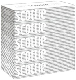 日本製紙クレシア スコッティ (SCOTTIE) ティッシュペーパー 200組5箱×12パック(60箱) まとめ買い 送料無料