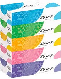大王製紙 エリエール ティッシュ360枚(180組)5箱 ×12パック まとめ買い 送料無料