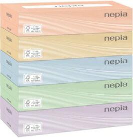 王子ネピア ネピアティシュ400枚(200組)5箱×12パック入り まとめ買い 送料無料