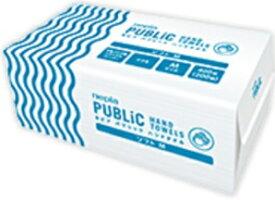 王子ネピア パブリックペーパータオル ソフトМ 中判 400枚(200組)×25パック まとめ買い 送料無料