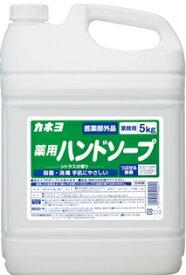 カネヨ 薬用ハンドソープ 5kg×3本入り 殺菌・消毒 手肌にやさしい まとめ買い 送料無料
