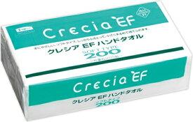 日本製紙クレシア クレシアEF ハンドタオル ソフトタイプ200 30パック まとめ買い 送料無料↓入荷待ちの際はこちらもオススメです↓日本製紙クレシア クレシアEF ハンドタオル ソフトタイプ100 60パック