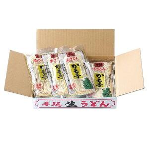 かも川 手延べ生うどん 300g×12袋 半生麺 RU-300