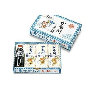 昔ながらの手延 かも川素麺 「つけつゆ付」 250g×12袋 つゆ 300ml×1本 乾麺 SKS-2
