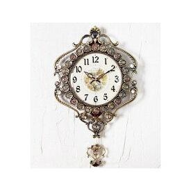 303振り子時計ゴールド/インテリア 電波時計 振り子時計 電波時計 無音 掛け時計 壁掛け時計 インテリア 家具 時計