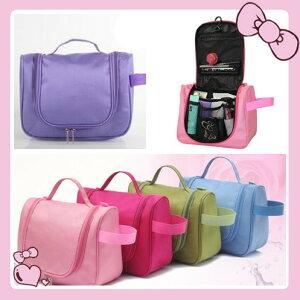 5色トラベルポーチ 旅行バッグ 化粧ポーチ 多機能収納 便利グッズ
