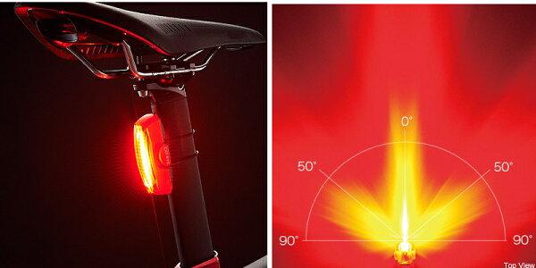 TL-LD710K自転車テールライトLED加速度センサー内蔵キャットアイCATEYEセーフティライトRAPIDX2KINETICラピッドエックス2キネティックUSB充電目立つテール