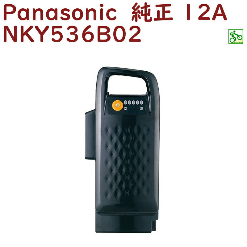 パナソニック NKY536B02 バッテリー 25.2V-12A ブラック