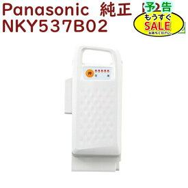 予告 水曜20時からSALE パナソニック NKY537B02 バッテリー 25.2V-12A ホワイト(代替品番 NKY579B02 になります)