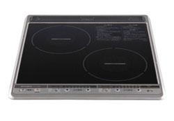 【送料無料】[CS-G28B]ビルトインIHクッキングヒーターIHヒーター三菱コンパクトタイプ2口IHブラック45cm