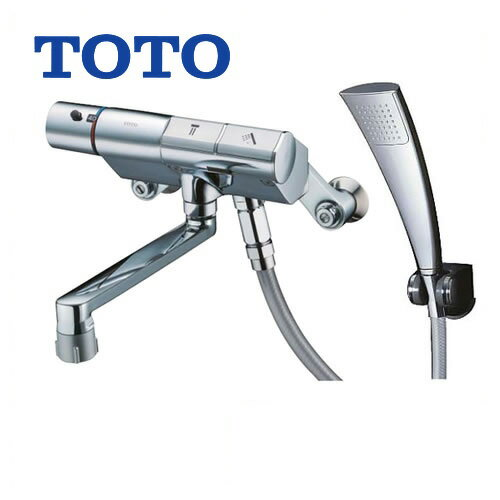 [TMN40TEC]TOTO 浴室水栓 シャワー水栓 タッチスイッチ水栓 サーモスタットシャワー金具(壁付きタイプ) シャワーヘッド:エアインめっき ハイカットユニット 【送料無料】 混合水栓 浴室用 蛇口 壁付タイプ
