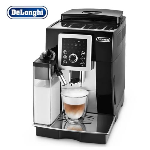 [ECAM23260-SB] デロンギ コーヒーメーカー マグニフィカS カプチーノ スマート コンパクト全自動エスプレッソマシン 水タンク容量:1.8L ブラック×シルバー [ECAM23260SB]※製造国はお選び頂けません。