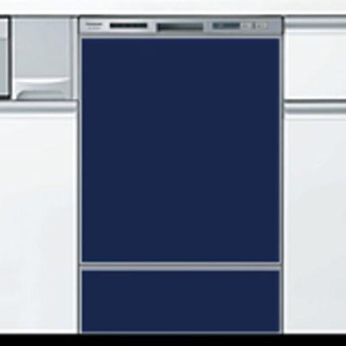 当店オリジナルドアパネルマリンブルー(光沢あり)※食器洗い乾燥機本体をご購入のお客様のみの販売となります